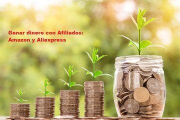 ganar dinero con afiliados amazon y aliexpresss